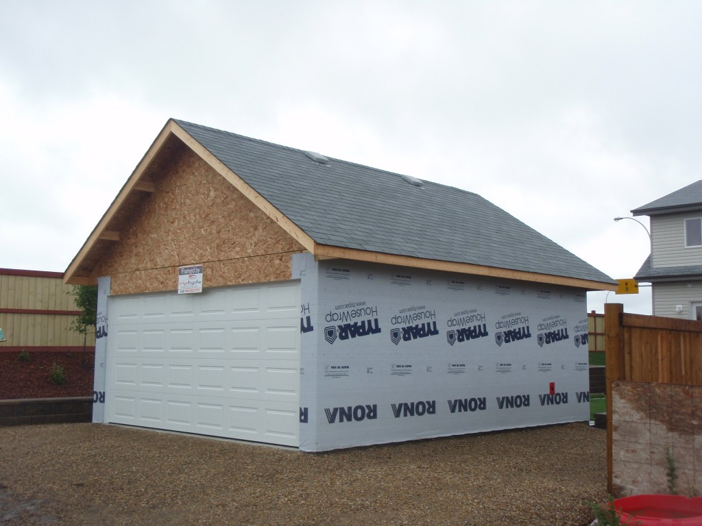 Providing. Edmonton Garage Packages   Riptyde Construction